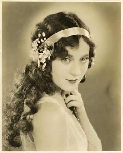 1920s, flowers, hair, headband, jobyna ralston