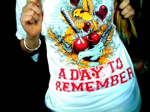 a day to remember, adtr, adtr shirt, band, band t-shirt