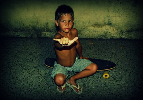 adorable, flip flops, kid, pretty, skate