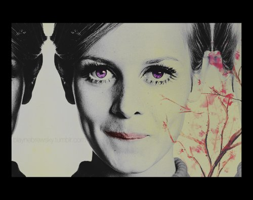 art, model, twiggy
