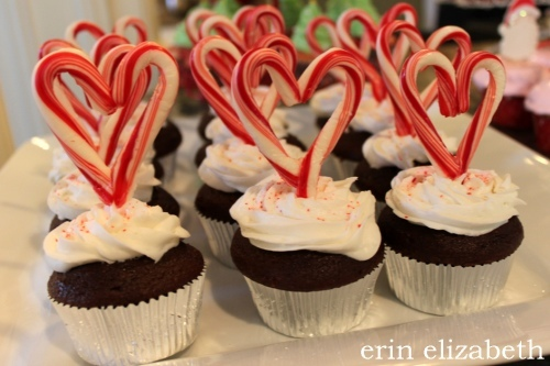 aww, candy cane, cupcakes, peppermint cupcakes