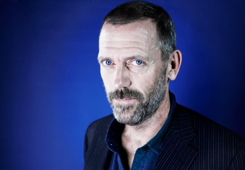 beard, house, hugh laurie