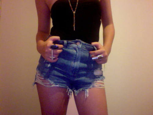 blue, blue shorts, cross, denim, denim shorts