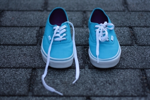 blue cool photography shoes vans image 149228 on