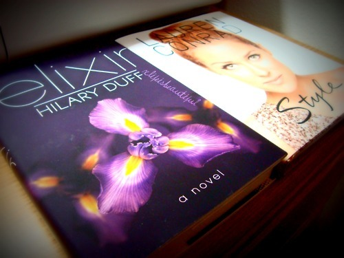 book, books, clea raymonds, elixir, girls, hilary, hilary duff, jdbs, lauren, lauren conrad, style, writter
