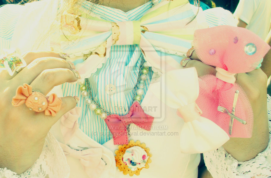 bow, candy, cute, girly, lolita