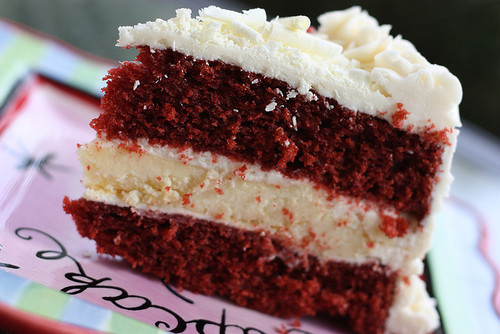 cake, cream, delicious, food, red velvet