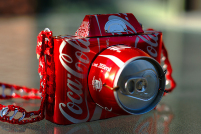 camera, coke, photography