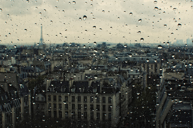 cities, city, paris, photography, rain