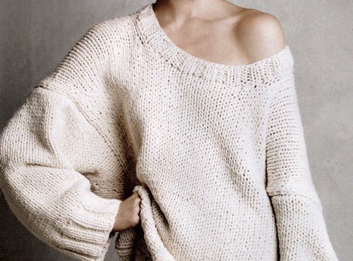 clothes, cream, fashion, knitwear, sweater