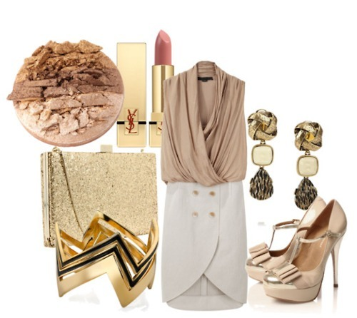 clothing, collections, fashion, formal, gold