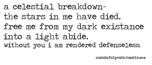 dark, light, photography, poem, poet, poetry, quote, stars, typography, writing