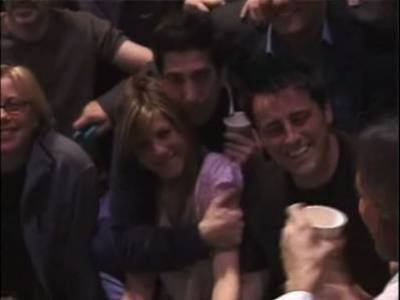 david schwimmer, jennifer aniston, matt leblanc