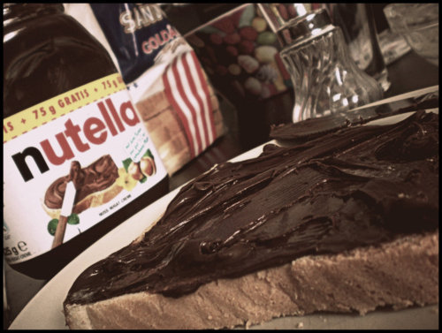 delicious, food, nutella