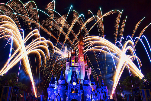 disneyland, disneyworld, fireworks