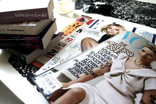 elle, magazines, vogue