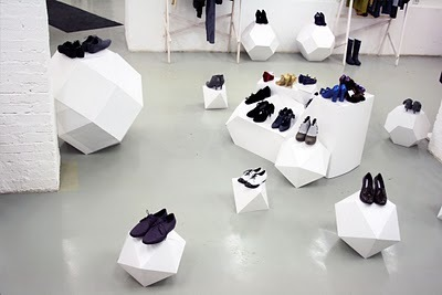 installation, melissa, objects, shoes