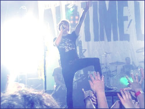 alex gaskarth, all time low, dear maria count me in, gig