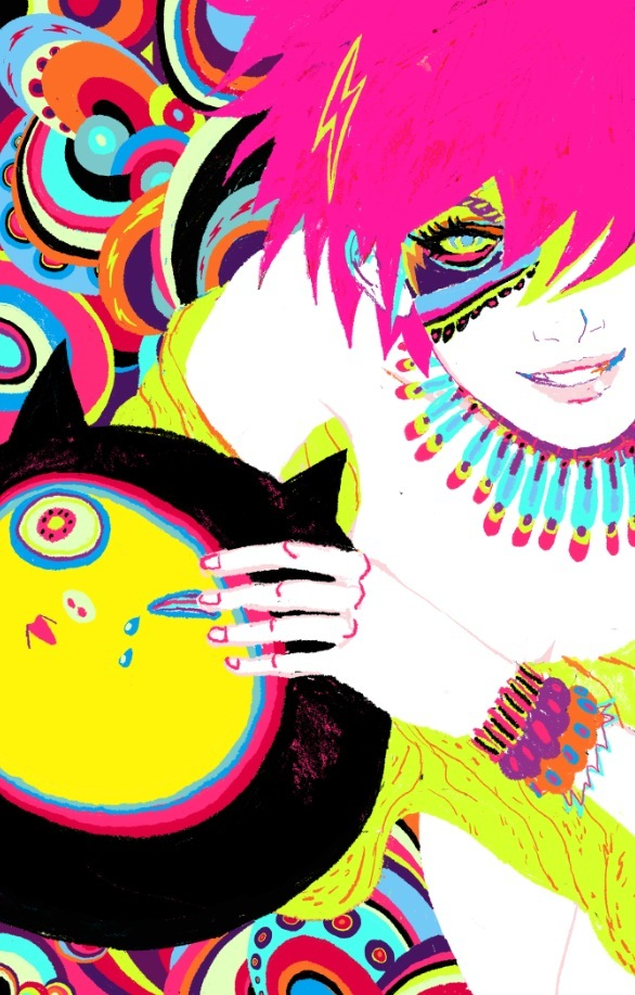 art, catball, colorful, cool, deviantart