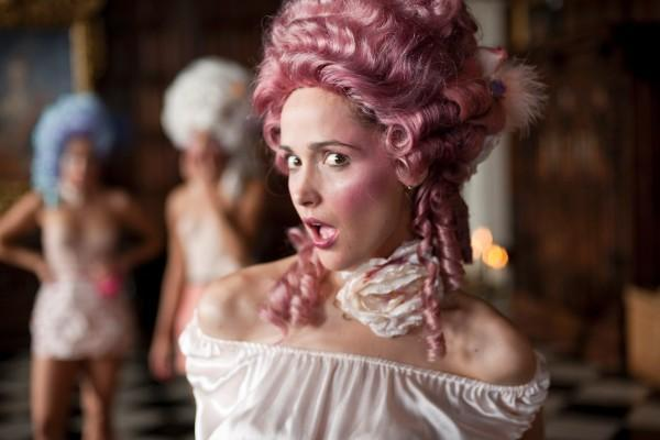 baroque, get him to the greek, rose byrne, victorian, wig