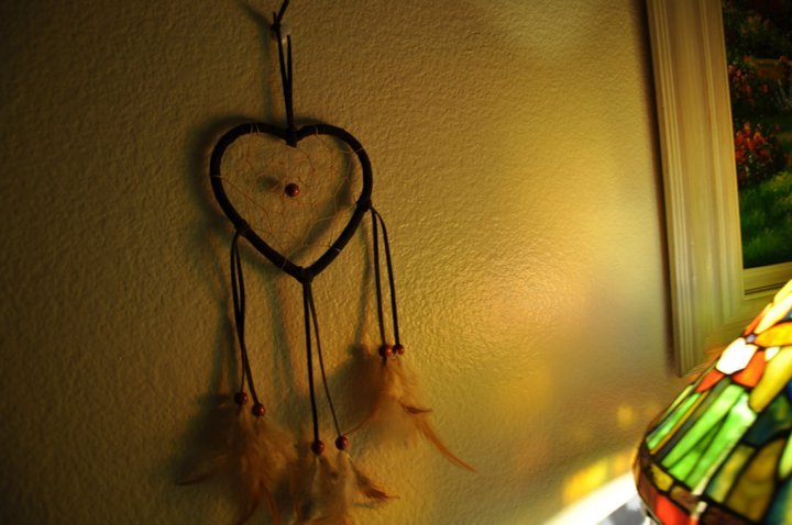 bead, cute, dreamcatcher, feathers, frame