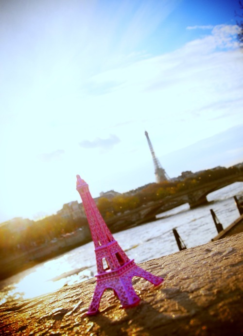blog, city, eiffel tower, gorgeous, inspiration, paris, pink, romantic, skies, sky, vintage
