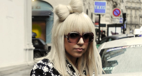 blonde, gaga, girl, lady gaga, pretty, sunglasses