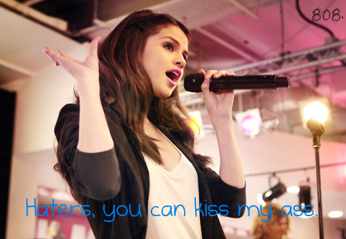 Caption Picture Fake Funny Selena Gomez Teen Quotes