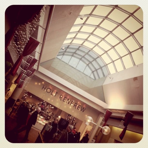 classy, fashion, holt renfrew, mall, shopping, the mall