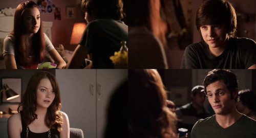 cute, easy a, emma stone, movie, penn badgley