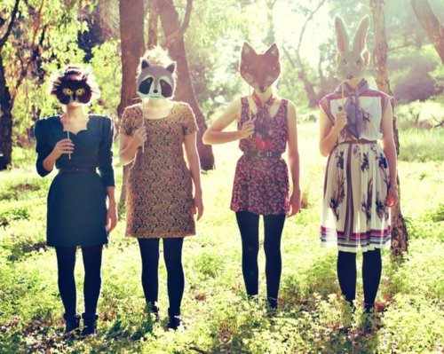cute, fashion, girl, masks, wonder