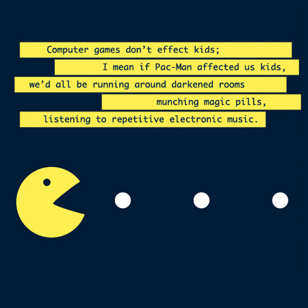 electronic music, funny, pacman, video games, yellow - image #175297 ...