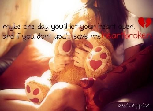 girl, heartbroken, love text, quotes, teddybear
