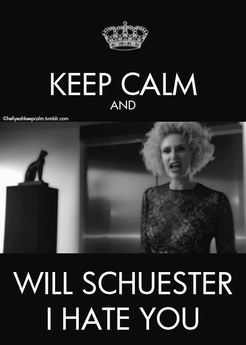 glee, keep calm, sue sylvester