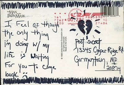 greg, heartbroken, love, miss, post secret, quote, text, typography
