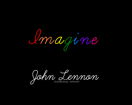 imagine, john lennon, quote