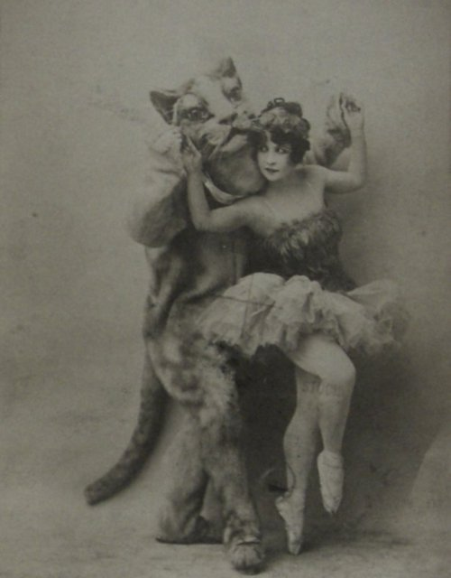 1910s, antiwue, ballet, catpeople, costume, turn of the century, vintage