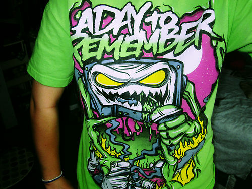 a day to remember, adtr shirt, shirt