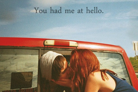 adtr, cute, hello, kiss, quote - image #177840 on Favim.com