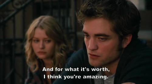 amazing, quote, remember me, robert pattinson, text