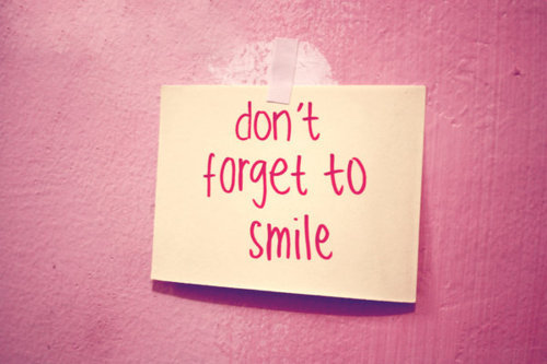 <3, cute, pink, smile, text, typography