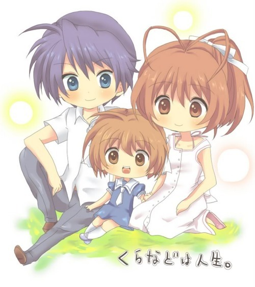 Anime Clannad Cute And Family Image 177635 On Favim Com