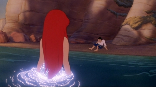 ariel, beach, disney, disney princess, love