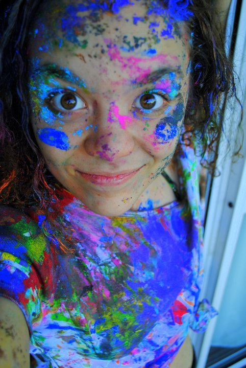 art, artistic, colorfull, colors, dirty