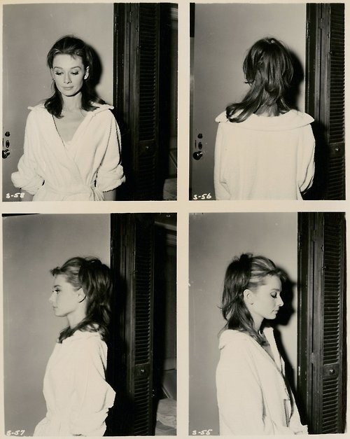 audrey, audrey hepburn, black and white, girly, photography