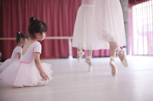 ballet, child, sweet