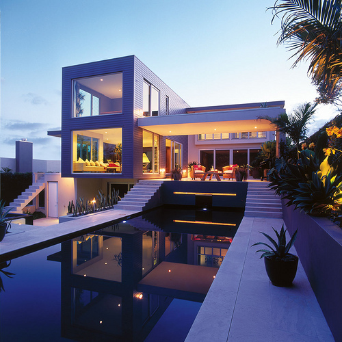 Beautiful house mansion open pool image 177242 on for Gorgeous modern homes