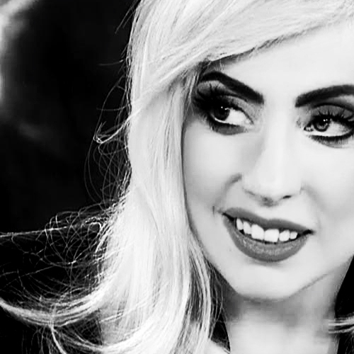 Beauty Black And White Lady Gaga Monstra Photography