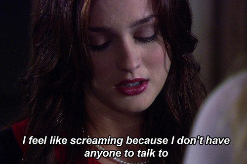 I Love You Quotes Gossip Girl : blair waldorf, gossip girl, leighton meester, lonely, quotes - image ...