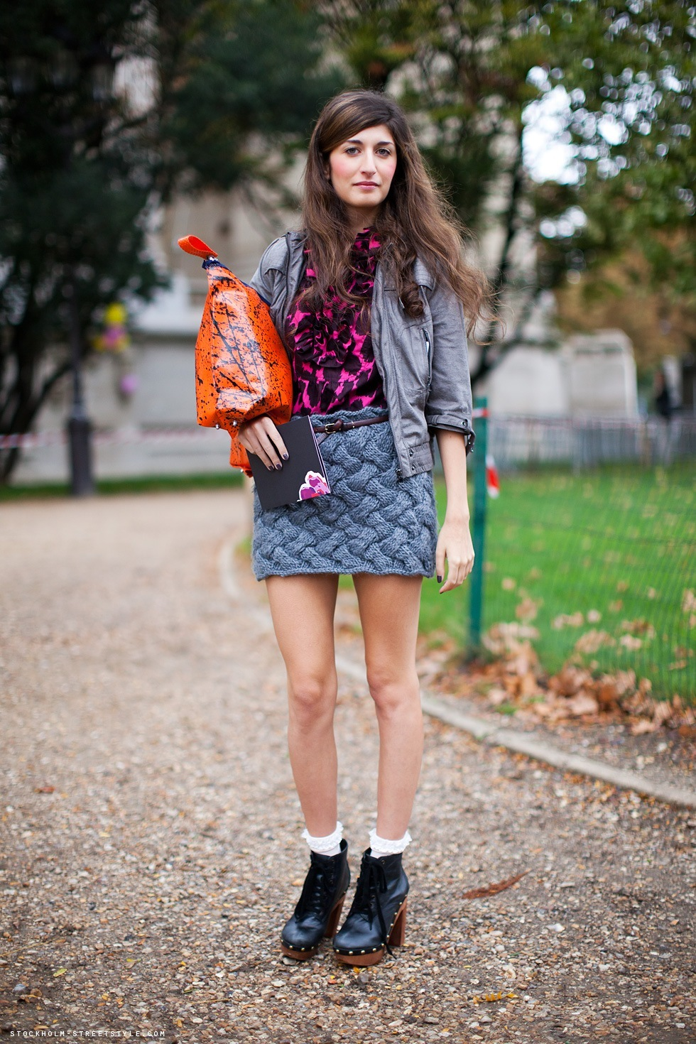 brunette, clogs, cute, fashion, girl